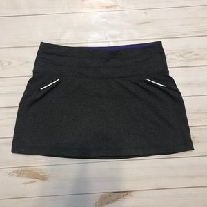 Athleta Relay Tennis Skort Skirt Medium Shorts